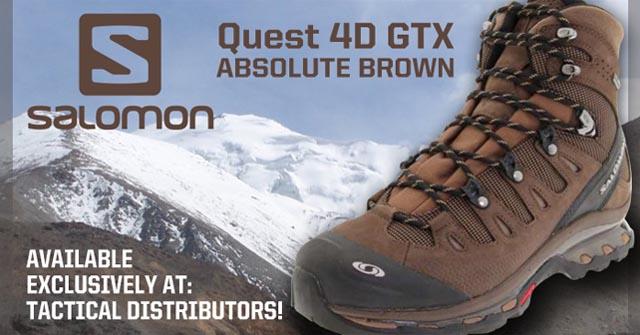 REVIEW: Salomon Forces Quest 4D GTX Navajo SPARTANAT