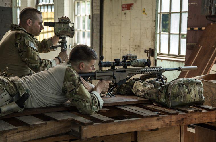 Entfernungsmesser Us Army : Ksk sniper schießen mit wilcox raptar s spartanat