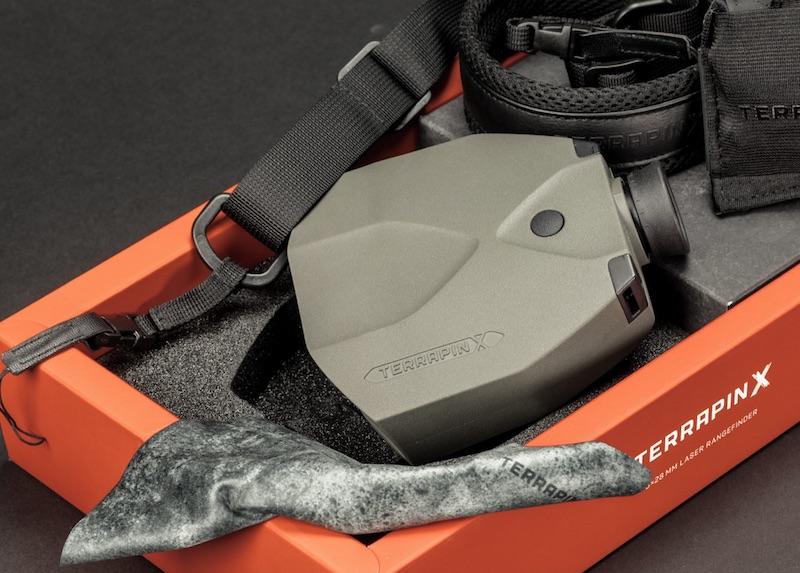 Terrapin u der laserentfernungsmesser für zivile scharfschützen